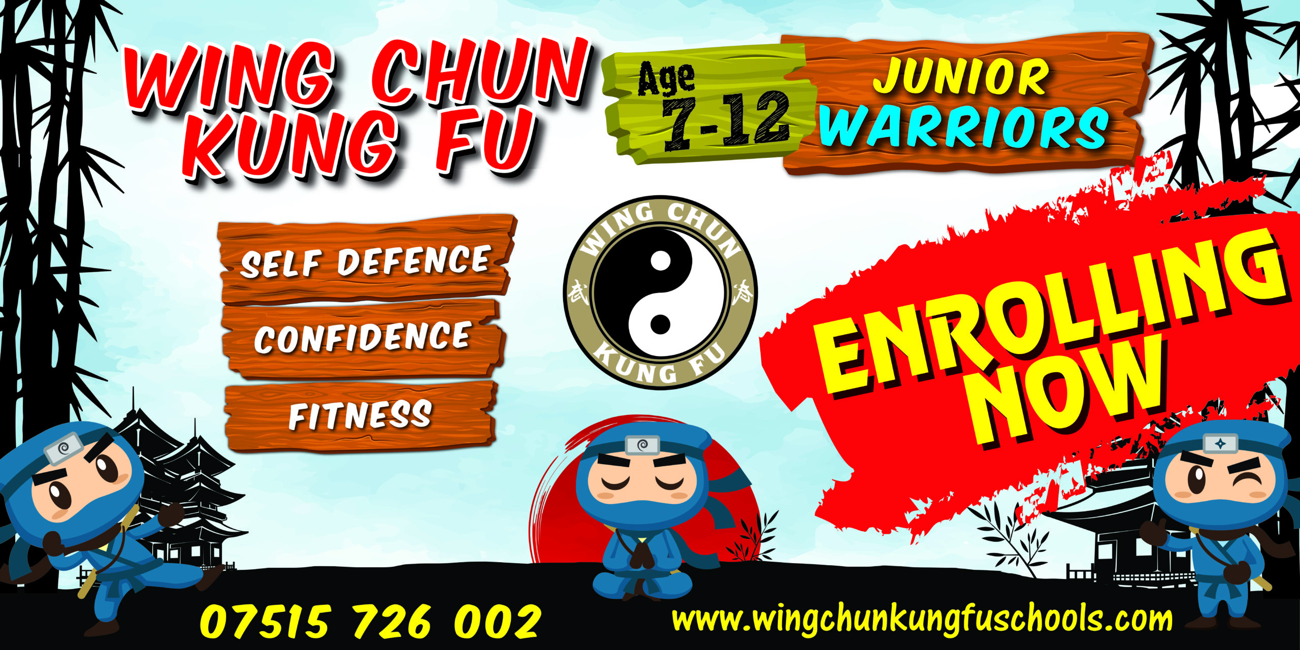 Junior Martial Arts classes aged 7 to 12